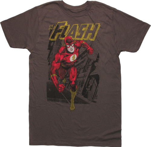 Flash Running in the City T-Shirt