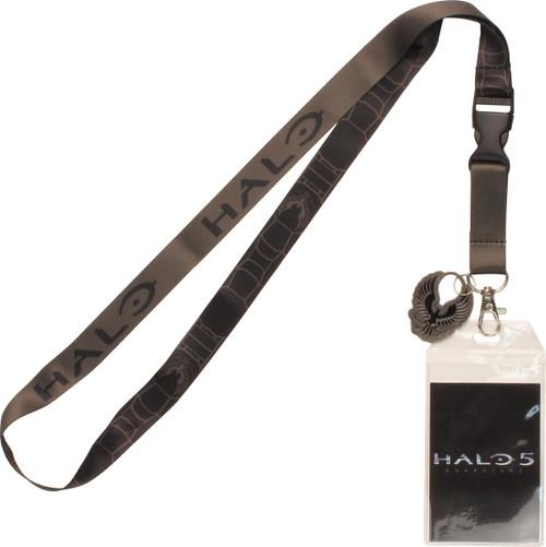 Halo 5 UNSC Logo Metal Charm Lanyard