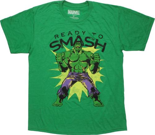 Incredible Hulk Ready to Smash T-Shirt