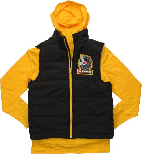 Lego Ninjago Hooded Shirt Sleeveless Youth Jacket