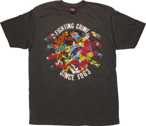 Spiderman Fighting Crime Since 1963 T-Shirt