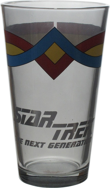 Star Trek TNG Wesley Crusher Pint Glass