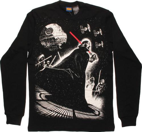 Star Wars Vader Battle Thermal Long Sleeve T-Shirt