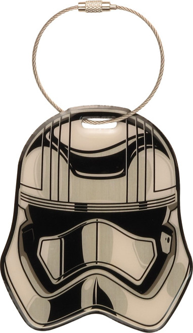Star Wars TFA Captain Phasma Aluminum Luggage Tag