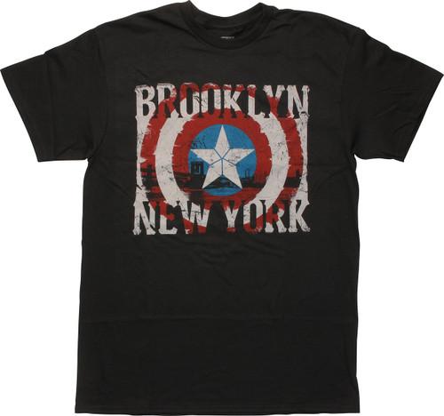 Captain America Brooklyn NY SDCC 2016 T-Shirt