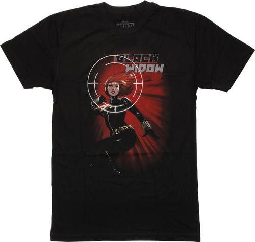 Black Widow Target Womens Boyfriend T-Shirt