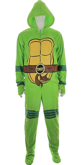Ninja Turtles Hooded Union Suit