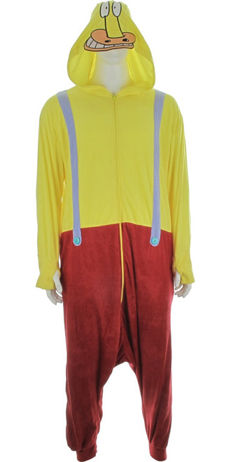 Rockos Modern Life Heffer Kigurumi Pajamas
