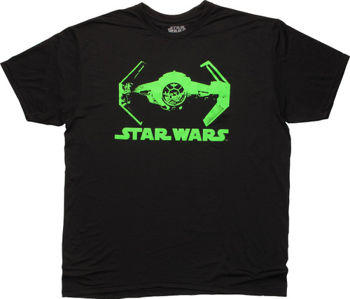 Star Wars Green Tie Fighter T-Shirt