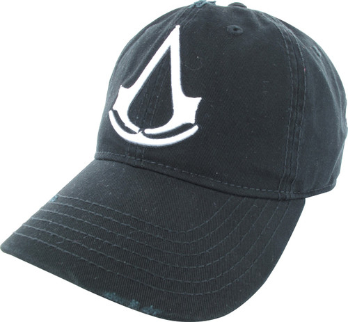 Assassins Creed Logo Distressed Snapback Hat
