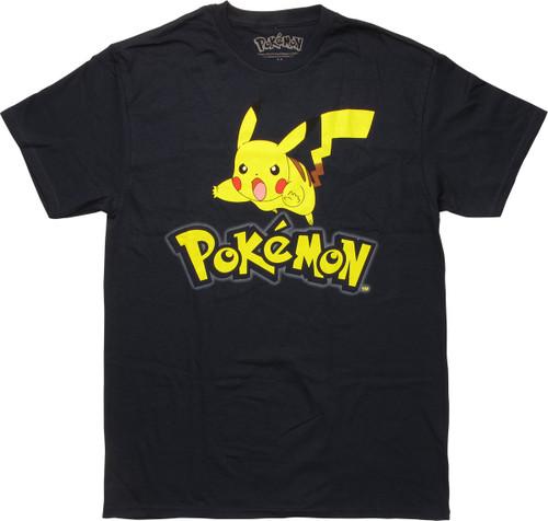 Pokemon Pikachu Attack Name T-Shirt