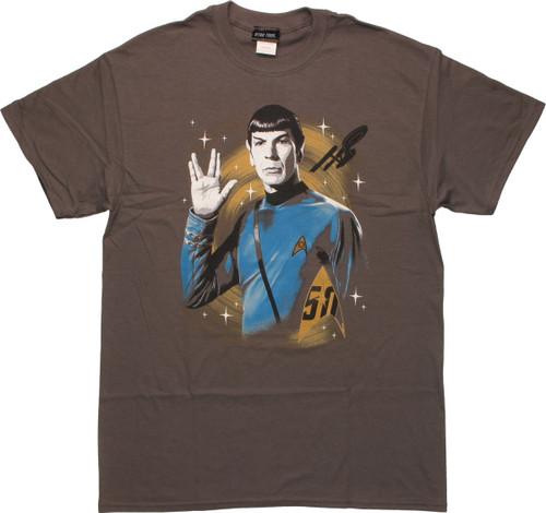 Star Trek 50th Spock Live Long and Prosper T-Shirt