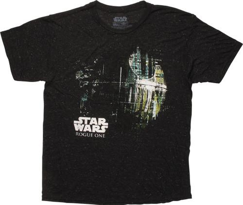 Star Wars Rogue One Dripping Death Star T-Shirt