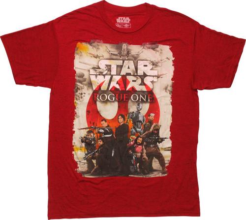 Star Wars Rogue One Rebel Team T-Shirt