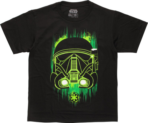 Star Wars Rogue One Trooper Glow Youth T-Shirt