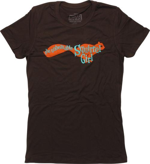 Unbeatable Squirrel Girl Womens Boyfriend T-Shirt