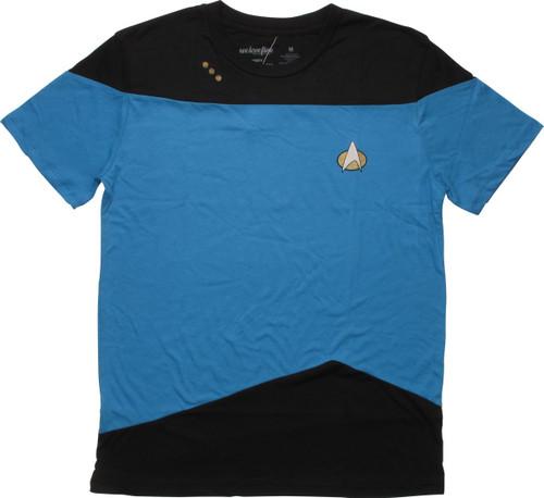 Star Trek TNG Sciences Mighty Fine T-Shirt Sheer