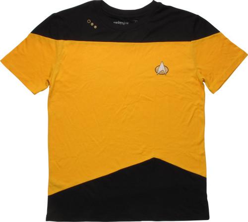 Star Trek TNG Operations Mighty Fine T-Shirt Sheer