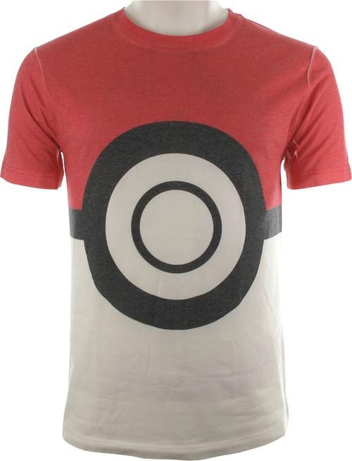 Pokemon Poke Ball Sublimated T-Shirt
