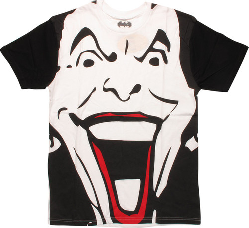 Joker Big Smiling Face T-Shirt