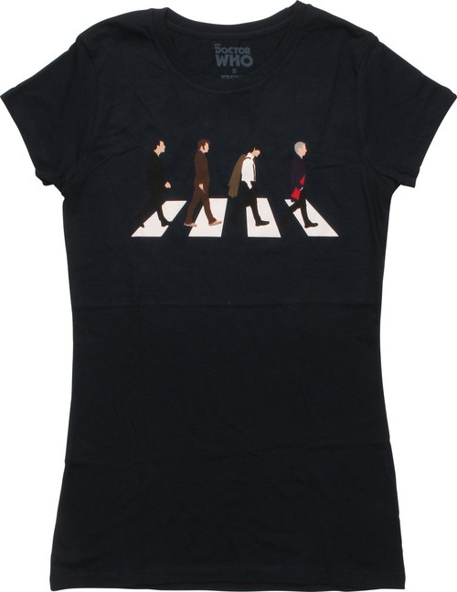 Doctor Who Abbey Road Juniors T-Shirt
