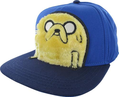 Adventure Time Jake Fuzzy Snapback Hat