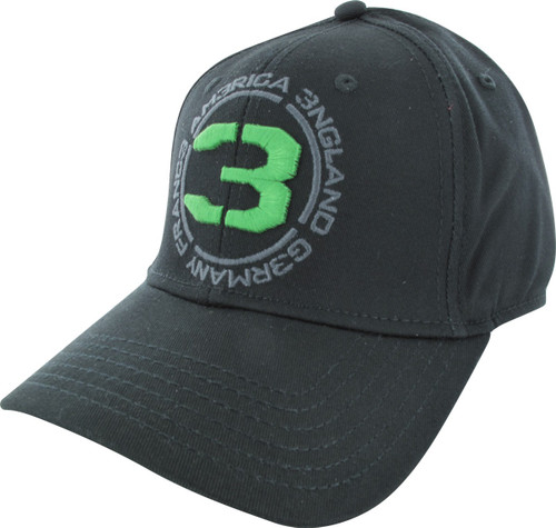 fc2bc48d964 Call of Duty Green Embroidered 3 Flex Hat hat-call-of-duty-green-emb-3-flex