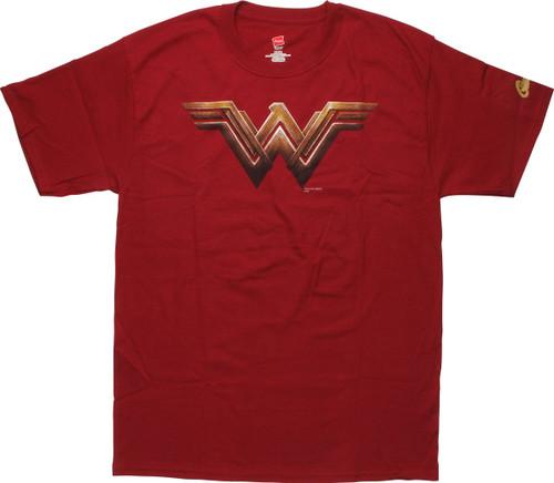 Wonder Woman Movie Logo T-Shirt