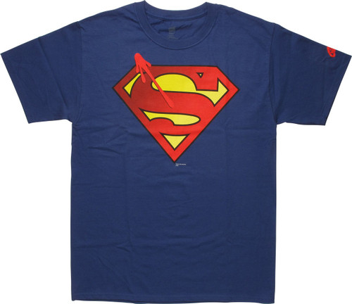 Superman Watchmen Symbol Logo T-Shirt