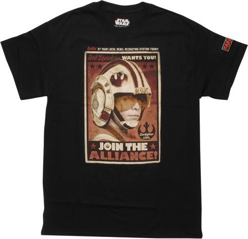 Star Wars Join Alliance Fan Expo Canada T-Shirt