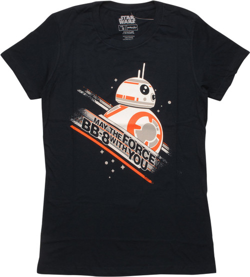 Star Wars Force BB-8 With You MF Juniors T-Shirt