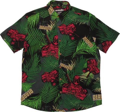 dc5051ee Deadpool Tropical Woven Shirt