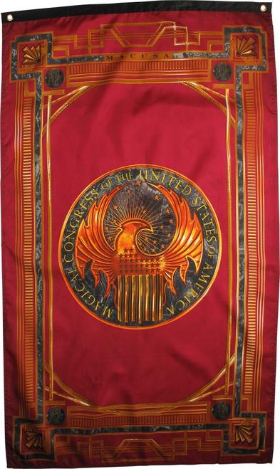 Fantastic Beasts Magical Congress Banner Flag
