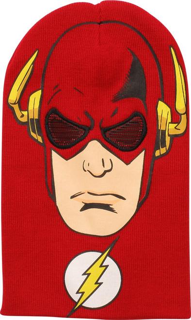 Flash Mesh Eyes Ski Mask Beanie