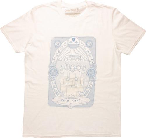 Star Trek 50th Anniversary Tarot Card T-Shirt