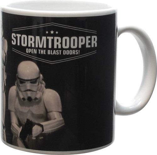 Star Wars Stormtroopers Open the Blast Doors Mug
