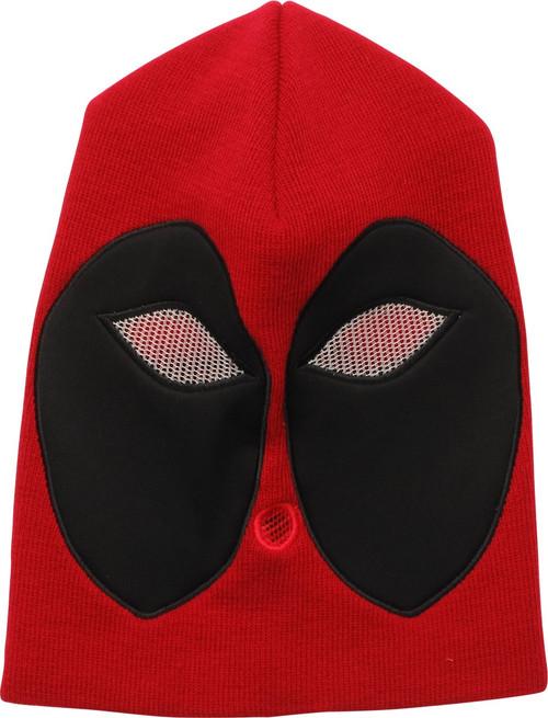 Deadpool Mesh Eyes Full Face Ski Mask Beanie