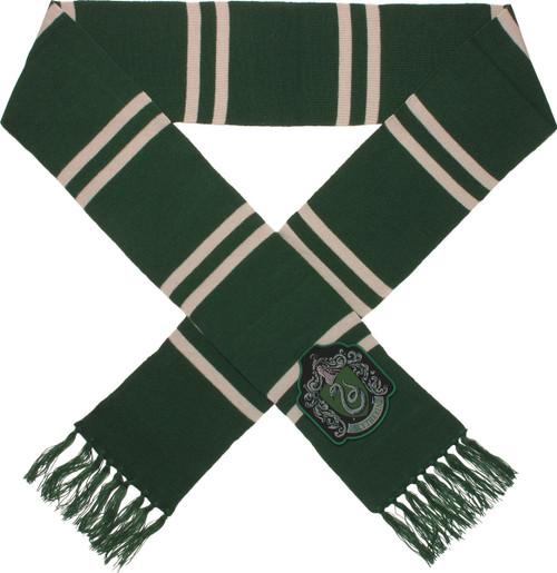 Harry Potter Big Slytherin Logo Green Scarf
