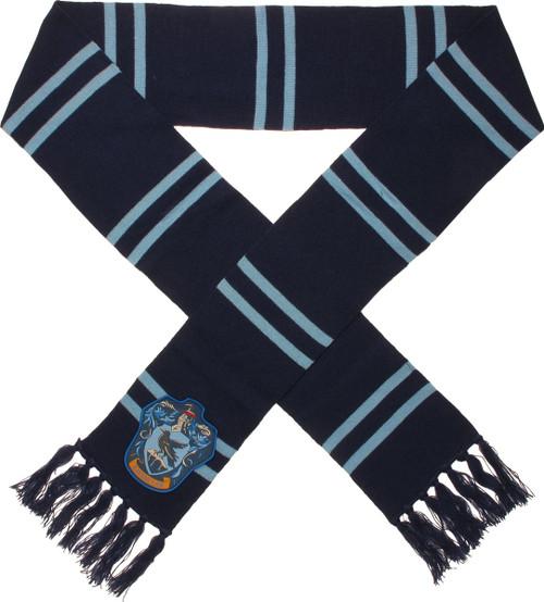 Harry Potter Big Ravenclaw Logo Blue Scarf