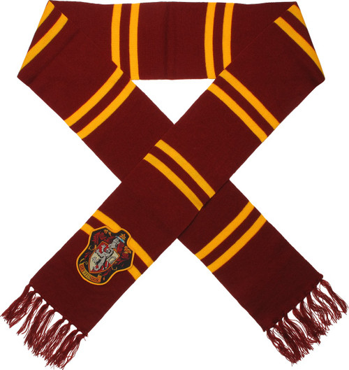 Harry Potter Big Gryffindor Logo Maroon Scarf