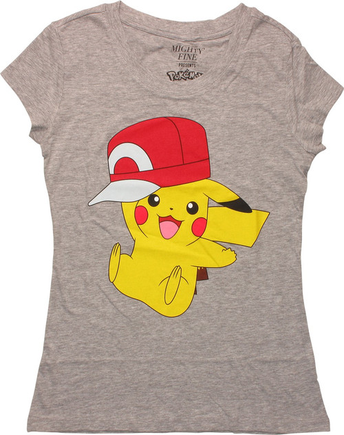 34a967cb6 Pokemon Pikachu Wearing Hat MF Juniors T-Shirt baby-tee-pokemon-pikachu -wearing-hat-mf