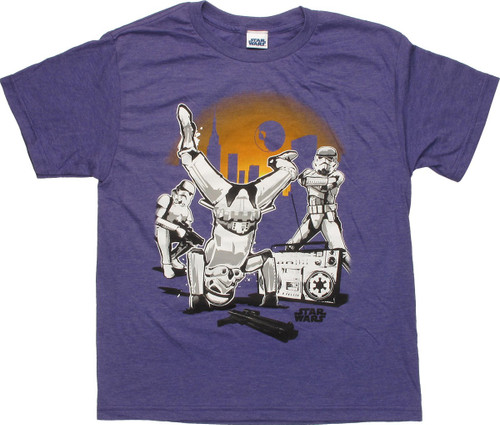 Star Wars Troopers Breakdancing Youth T-Shirt