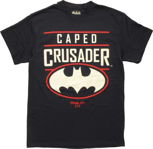 Batman Caped Crusader Gotham City USA T-Shirt