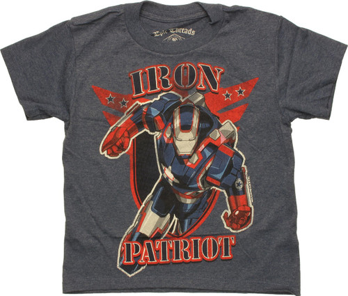 Iron Man Iron Patriot Juvenile T-Shirt