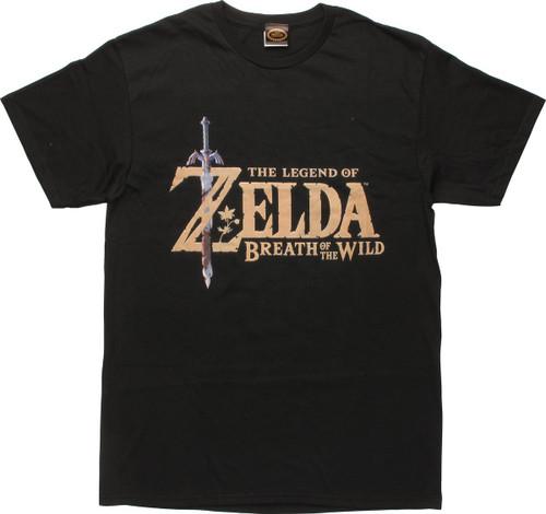 Legend of Zelda Breath Of The Wild T-Shirt