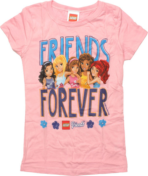 Lego Friends Forever Girls Juvenile T-Shirt