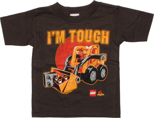 Lego Duplo Excavator I'm Tough Toddler T-Shirt