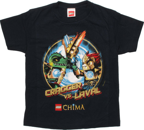 Lego Chima Cragger vs Laval Youth T-Shirt