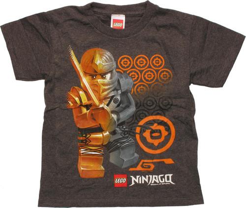 Lego Ninjago Gold and Silver Juvenile T-Shirt