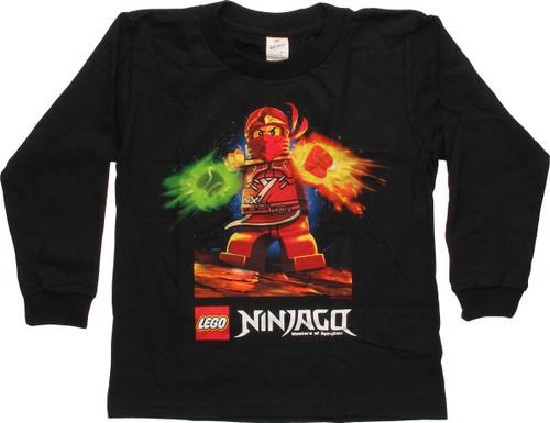 Lego Ninjago Spinjitzu Kai LS Juvenile T-Shirt